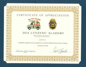 Zurixx's Puerto Rico office donated toys to children in need in the community through the DEA Citizens Academy, which provides drug education for schools.