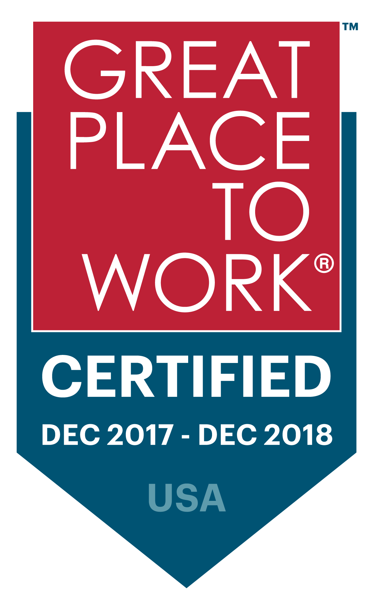 Zurixx has received recognition as a 2017 Great Place to Work. This is the company's third year receiving this award based off employee feedback.